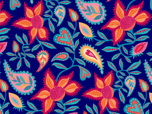 Frida – pattern design