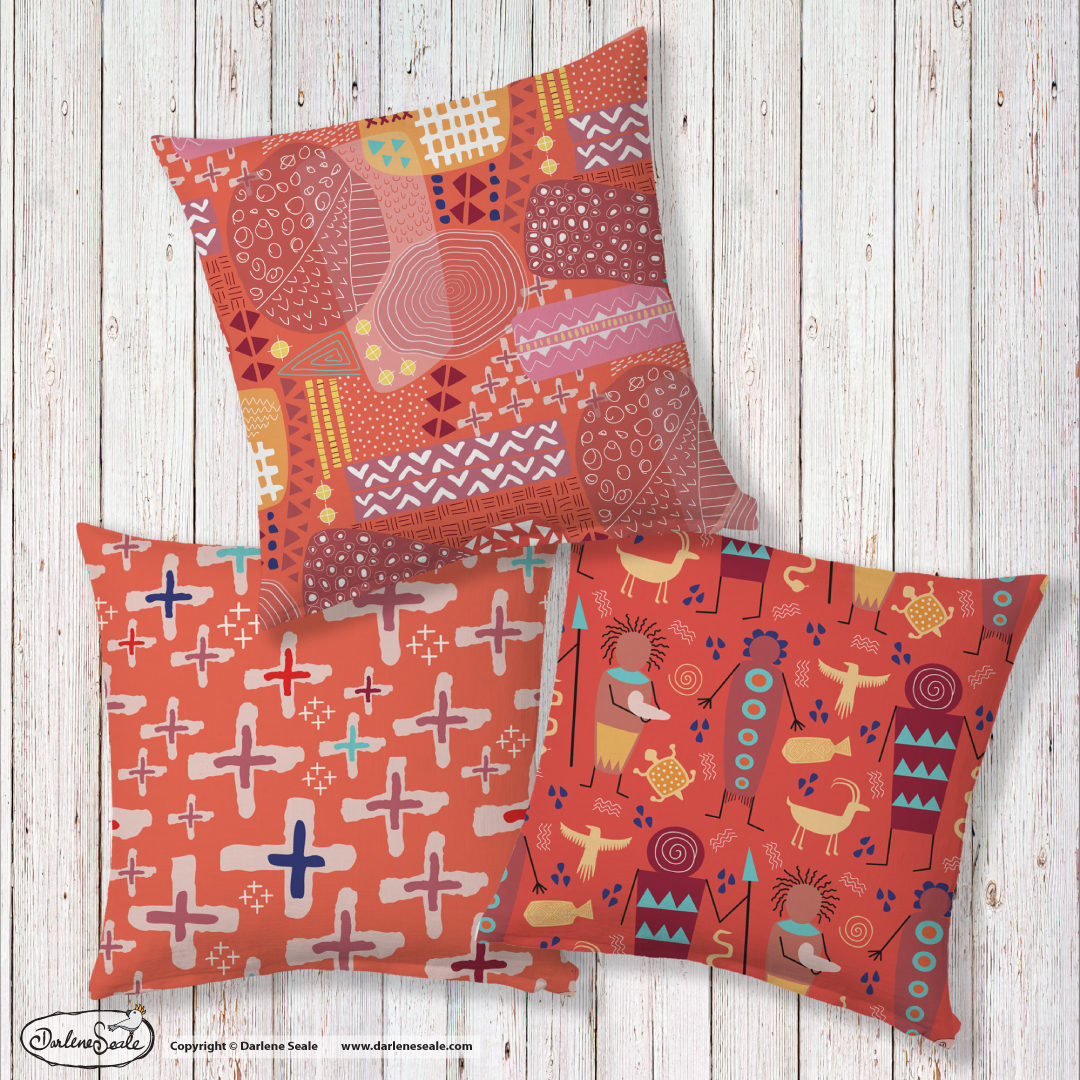 Tribal Tapestries Cushions