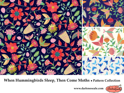 When Hummingbirds Sleep, Then Come Moths